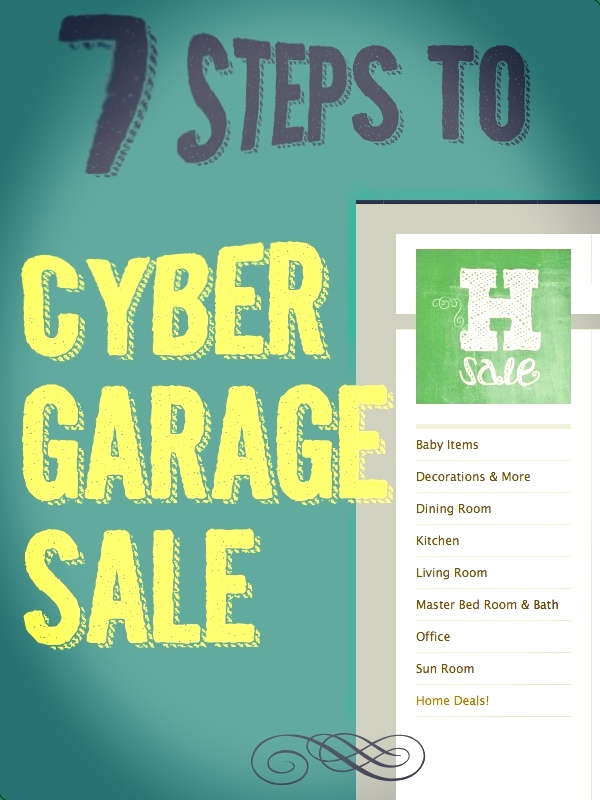 7 Steps to Cyber Garage Sale